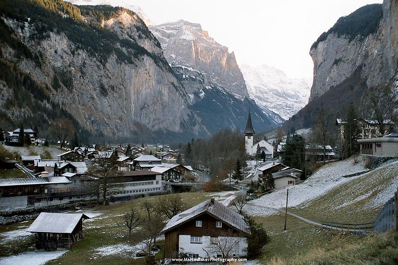 Lauterbrunnen, Lauterbrunnen Valley, Bernese Oberland, Switzerland.