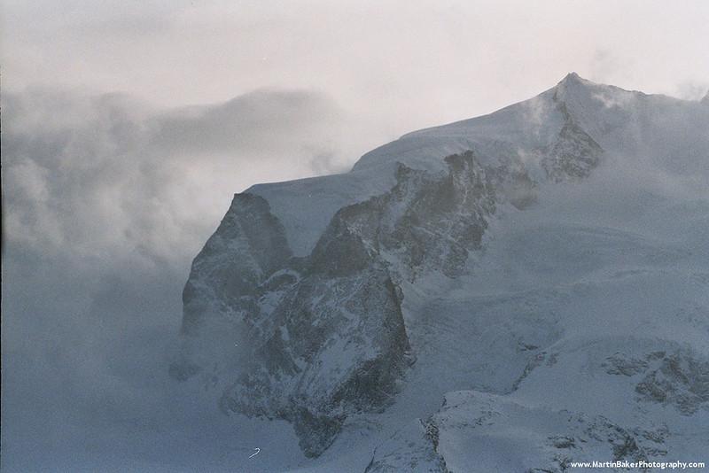 Dufourspitze, Zermatt, Bernese Oberland, Switzerland.