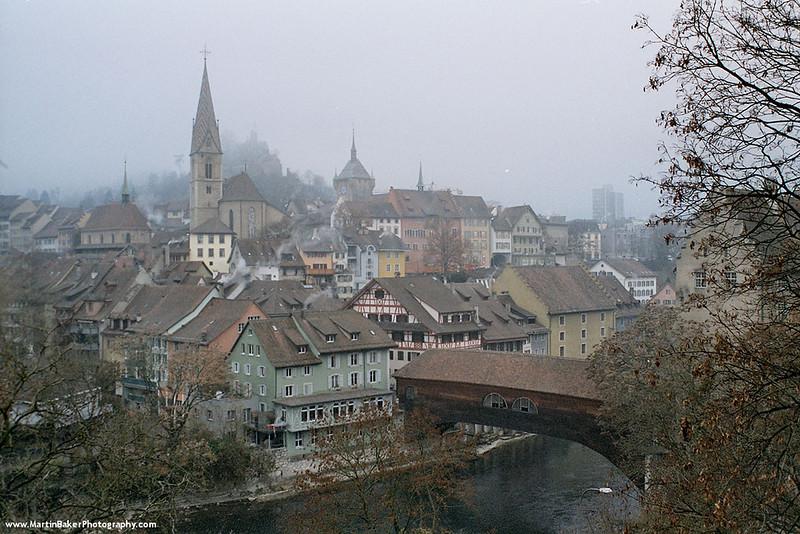 Pont de Berne, Fribourg, Switzerland.