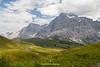 Grosse Scheidegg and the Wetterhorn, Grindelwald, Bernese Oberland, Switzerland.