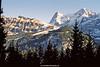 Eiger and Mönch, Lauterbrunnen Valley, Bernese Oberland, Switzerland.