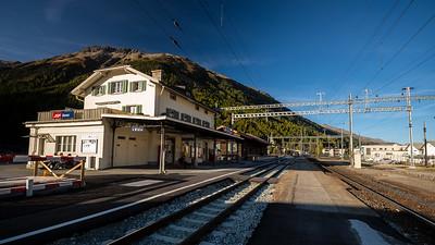 train station Bever