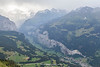 The Lauterbrunnen Valley, Bernese Oberland, Switzerland.