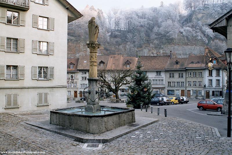 Place du Petit-St-Jean, Fribourg, Switzerland.