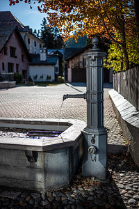 water pump town square Bever