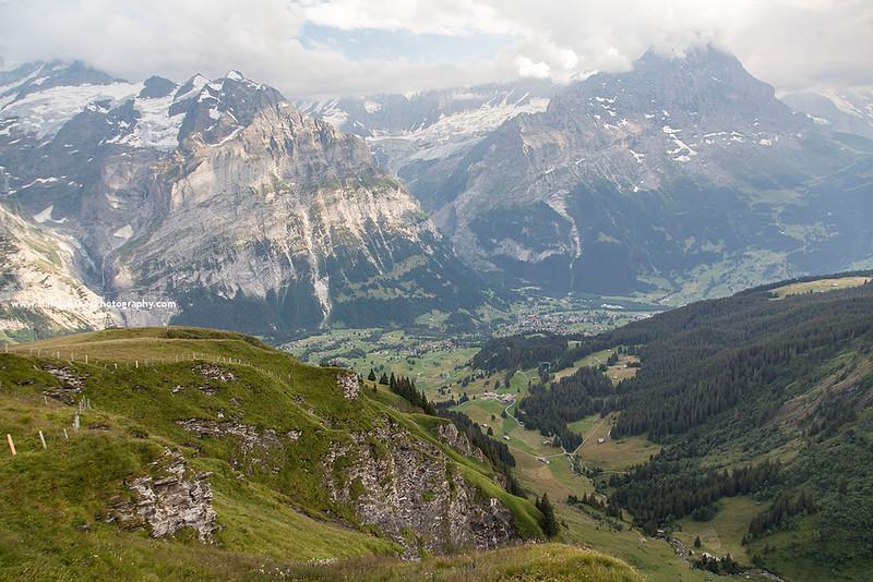 Grindelwald Valley, Bernese Oberland, Switzerland.