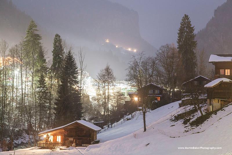 Lauterbrunnen, The Lauterbrunnen Valley, Bernese Oberland, Switzerland.