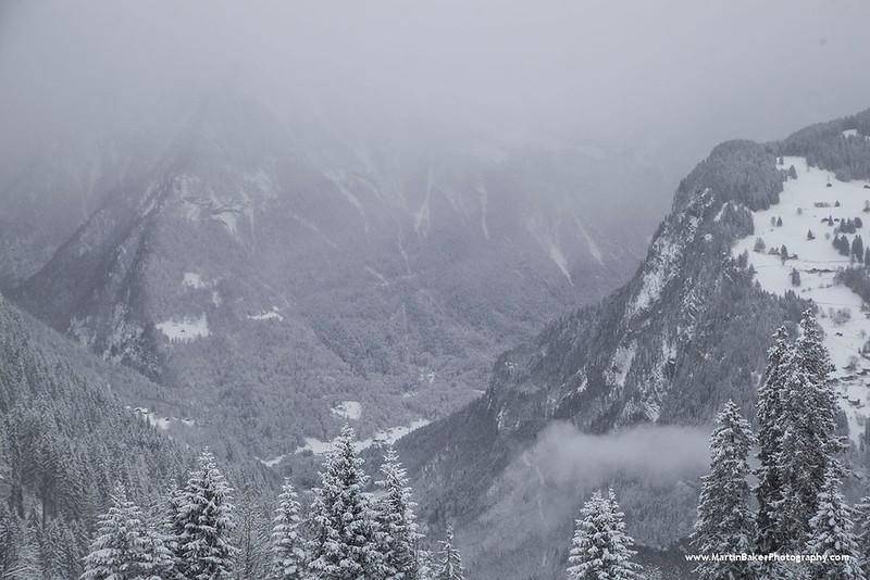 Schynige Platte and the Lauterbrunnen Valley, Bernese Oberland, Switzerland.