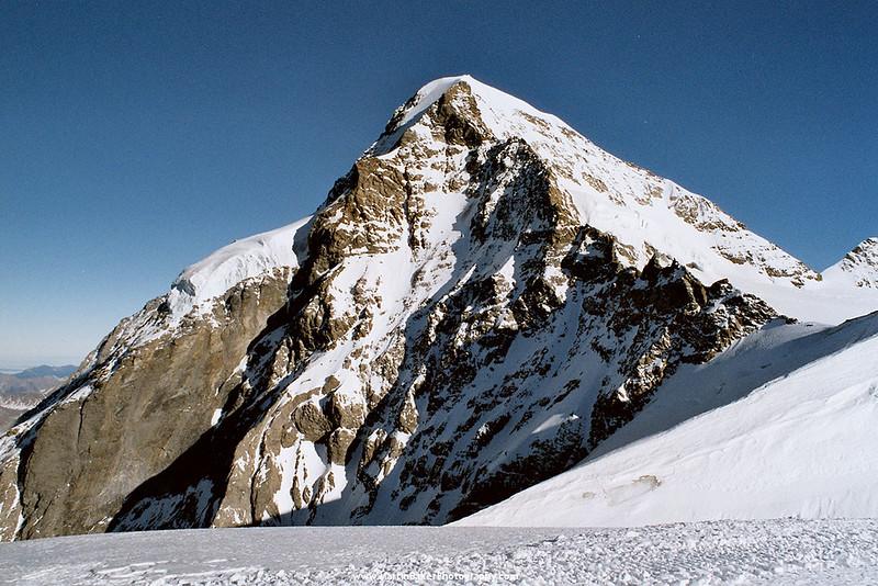 The Mönch, Jungfraujoch, Lauterbrunnen Valley, Bernese Oberland, Switzerland.