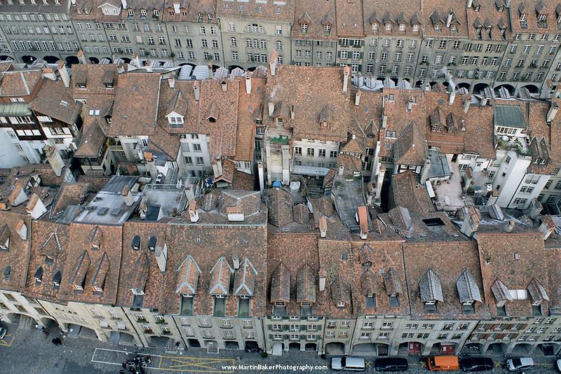 Bern (view from Münster), Switzerland.
