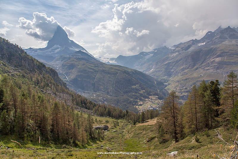 The Matterhorn, Zermatt, Switzerland.