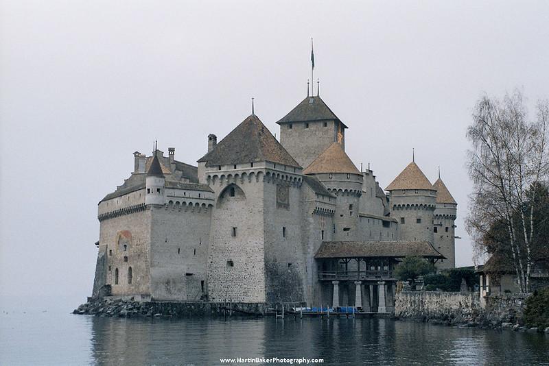 Château de Chillon, Lake Geneva, Switzerland.