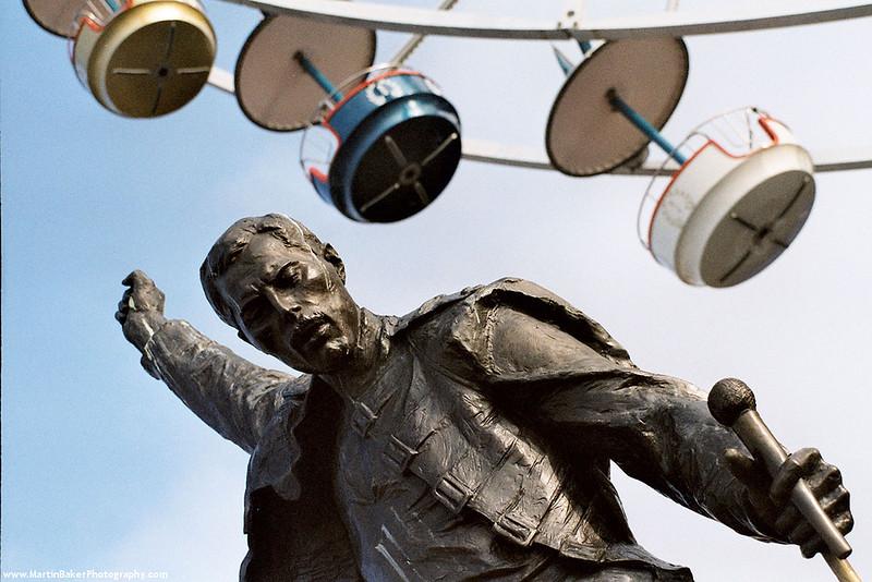 Freddie Mercury, Montreux, Switzerland.