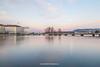 River Rhône, Geneva, Switzerland.