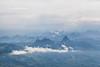 View north from Mount Rigi, Lucerne, Switzerland.