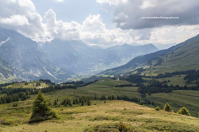 The Eiger, Grosse Scheidegg, Grindelwald, Bernese Oberland, Switzerland.