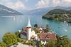 Spiez and the Brienzersee, Spiez, Switzerland.