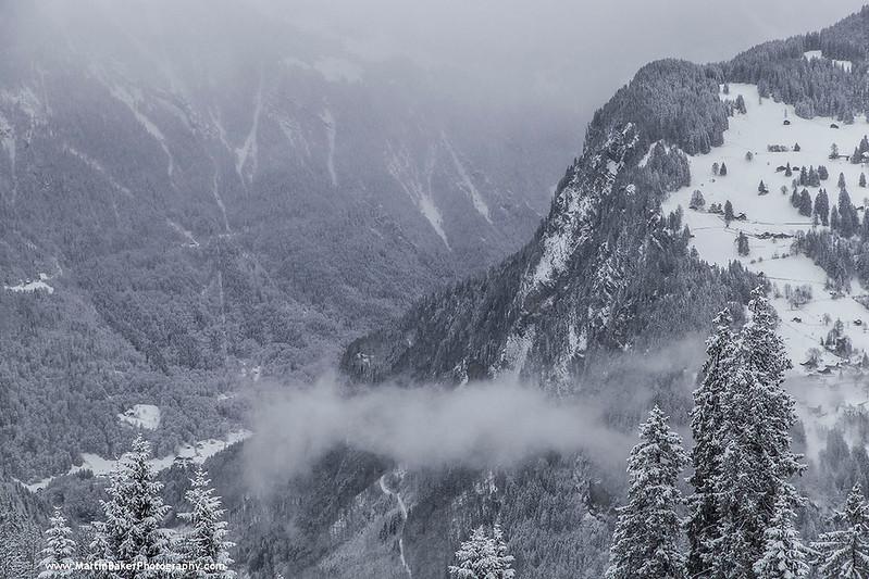 The Lauterbrunnen Valley,  Bernese Oberland, The Alps, Switzerland.