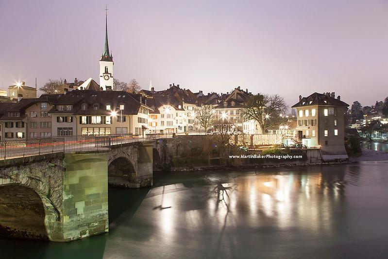 The Old Town, Bern, Switzerland.