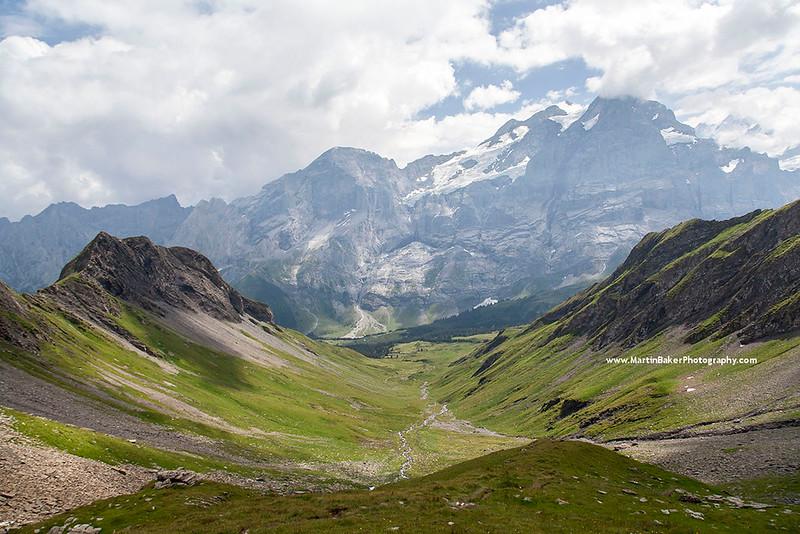 The Wetterhorn, Grosse Scheidegg, Grindelwald, Bernese Oberland, Switzerland.