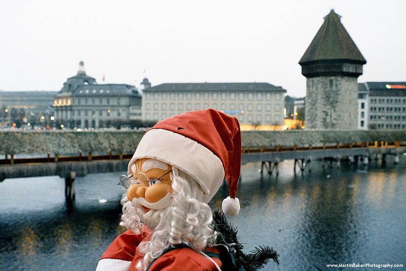 Kapellbrücke, Lucerne, Switzerland.