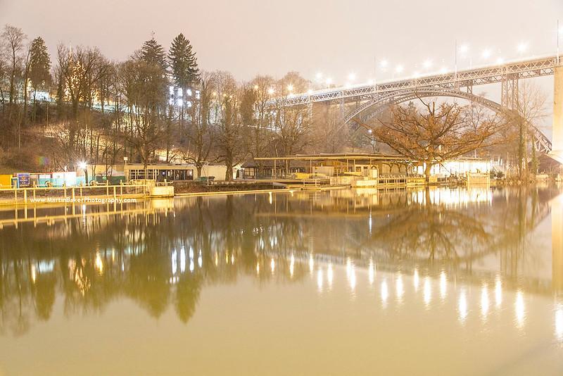 River Aare, Bern, Switzerland.