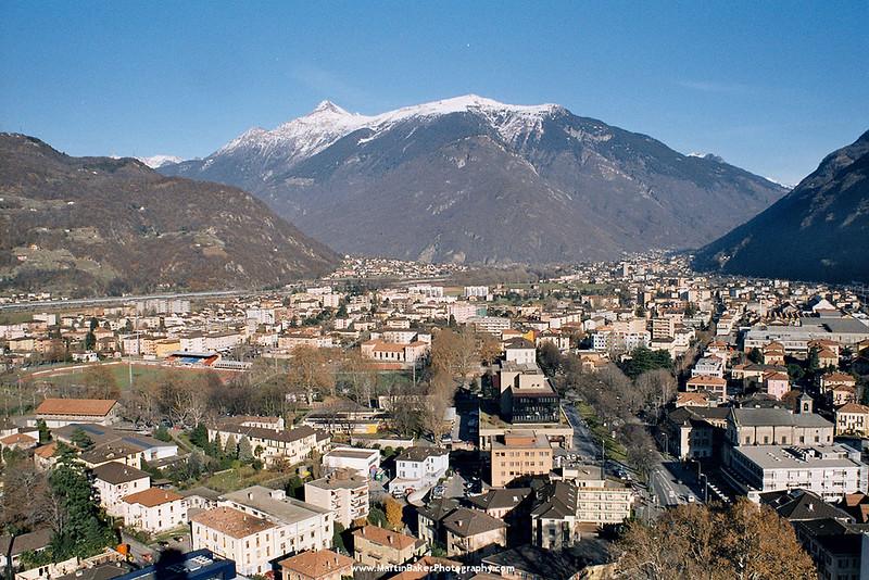 Bellinzona, Ticino, Switzerland.