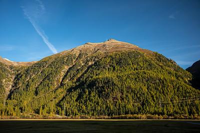 big hill Upper Engadine Valley