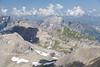 View from Schilthorn, Lauterbrunnen Valley, Bernese Oberland, Switzerland.