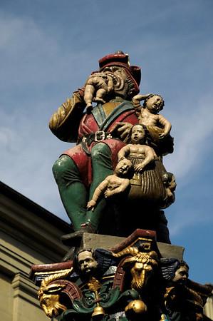 Ogre Fountain, Bern