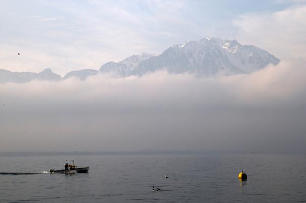 Lake Geneva, Montreux