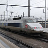 TGV 512 leaving Luxembourg.
