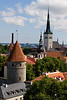 Images of the Old City within Tallin, Estonia
