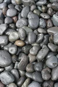 Beach stones, Duque Beach