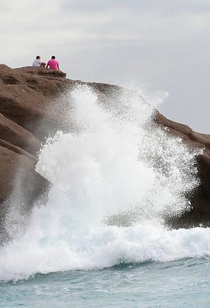 Waves at Duque Beach