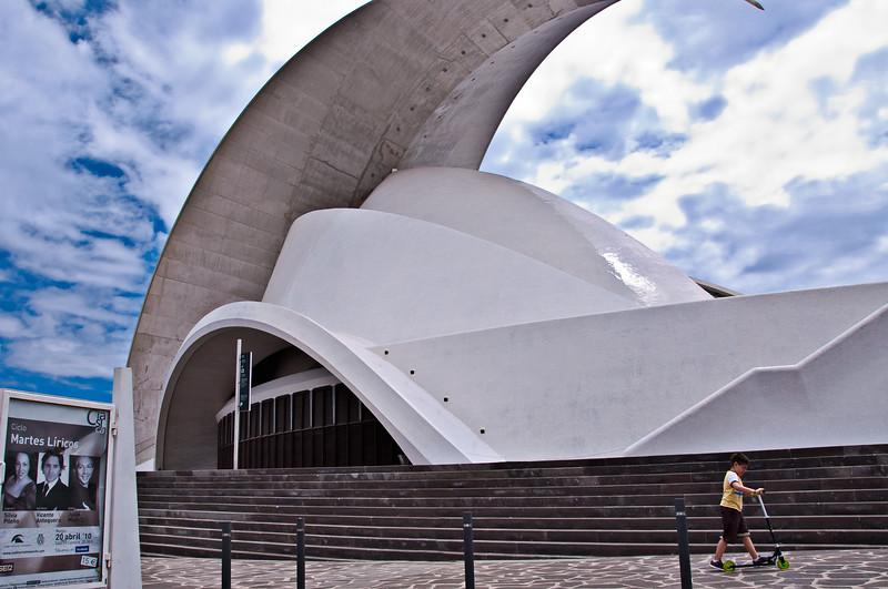 Auditorio Di Tenerife; Tenerife, Canary Islands