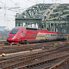 PBKA set 4346 crosses the Rhine and into Köln Hauptbahnhof on the 11th April 2008.