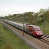 A Thalys PBA set heads for Belgium near Avelin, France.