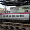 A Thalys Comfort 1 car with WiFi dome at Bruxelles Midi.