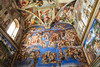 """No Picture""<br /> The Sistine Chapel (Sacellum Sixtinum - Cappella Sistina) in the Vatican Museums (Musei Vaticani)."