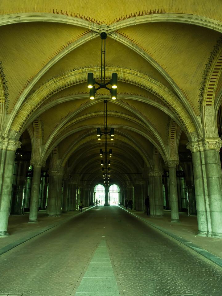Bike Path under the Rijksmuseum