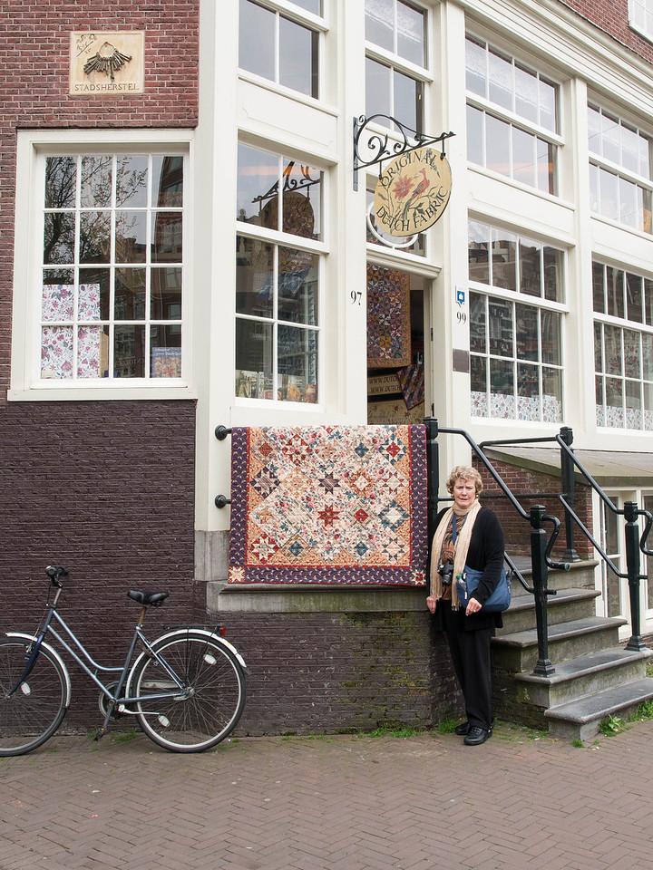 Mom found a quilt shop!