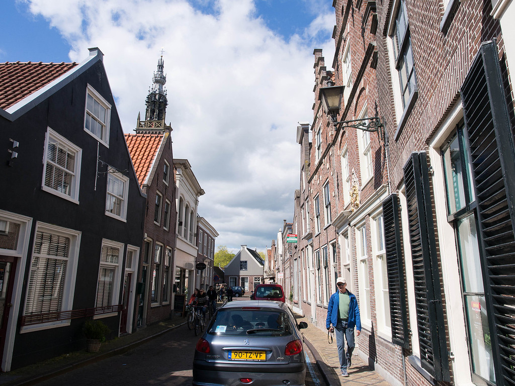 Darling Edam.  The streets are narrow and they build the facades to lean in.