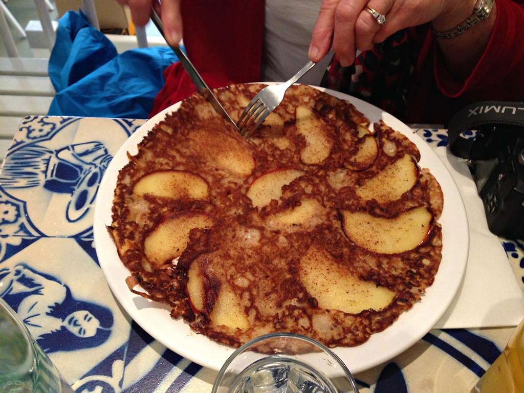 Traditional Dutch Pancake