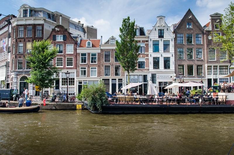 Along Prinsengracht.