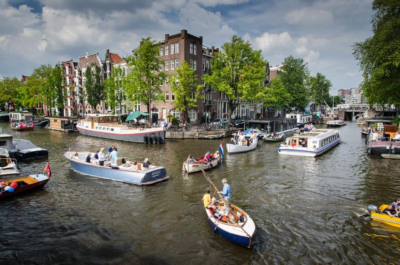 Prinsengracht and Lekkeresluis