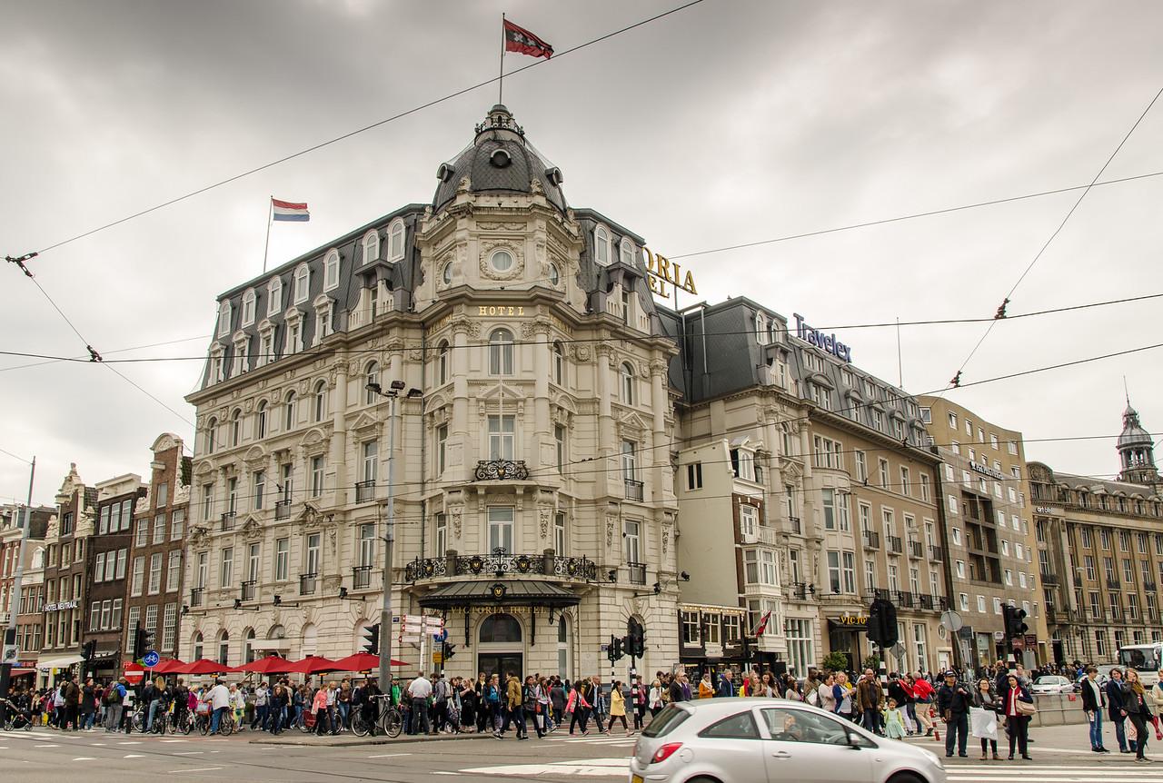 Park Plaza Victoria Hotel Amsterdam.