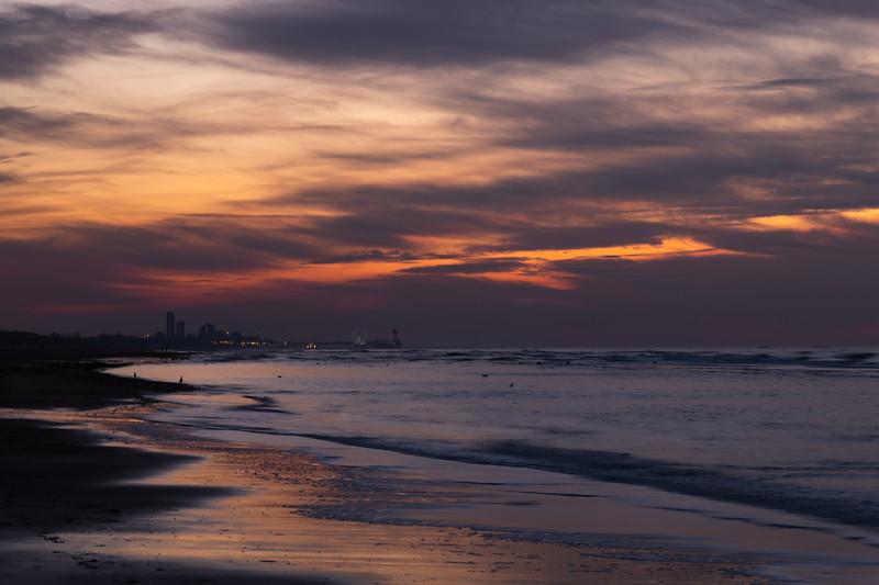 View of Scheveningen from Wassenaar beach