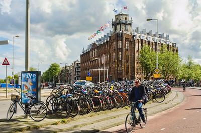 Amsterdam Side Street