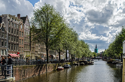 Canal view, Amsterdam